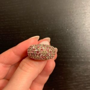 Swarovski Jewelry - SWAROVSKI pink crystal ring